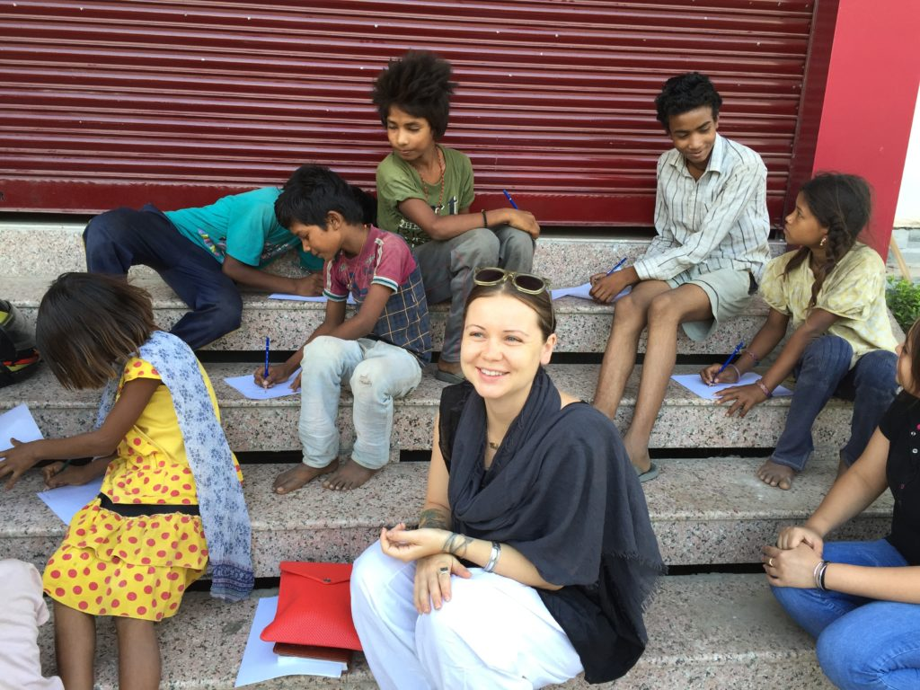 Fulfilling on our Street Meet Compassion Project in Gwalior, Madhya Pradesh