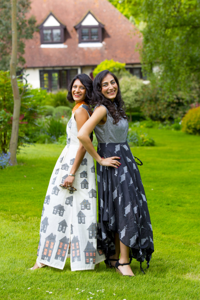 Sita Shah and Anjli Shah, Founders of S9 Muses Ltd - Ethical Fashion