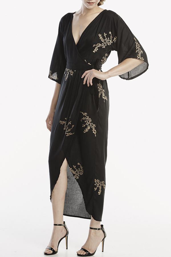 Good Cloth - Adapted Kimono Wrap Dress
