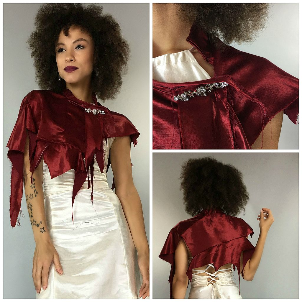 Swankety Swank - Red Capelet