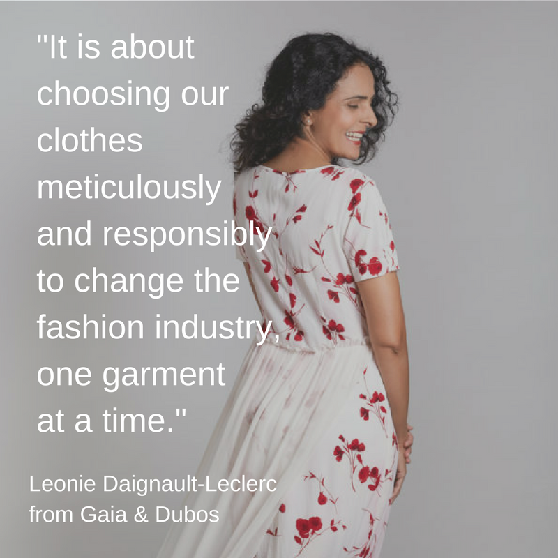 Ethical Clothing - Gaia & Dubos