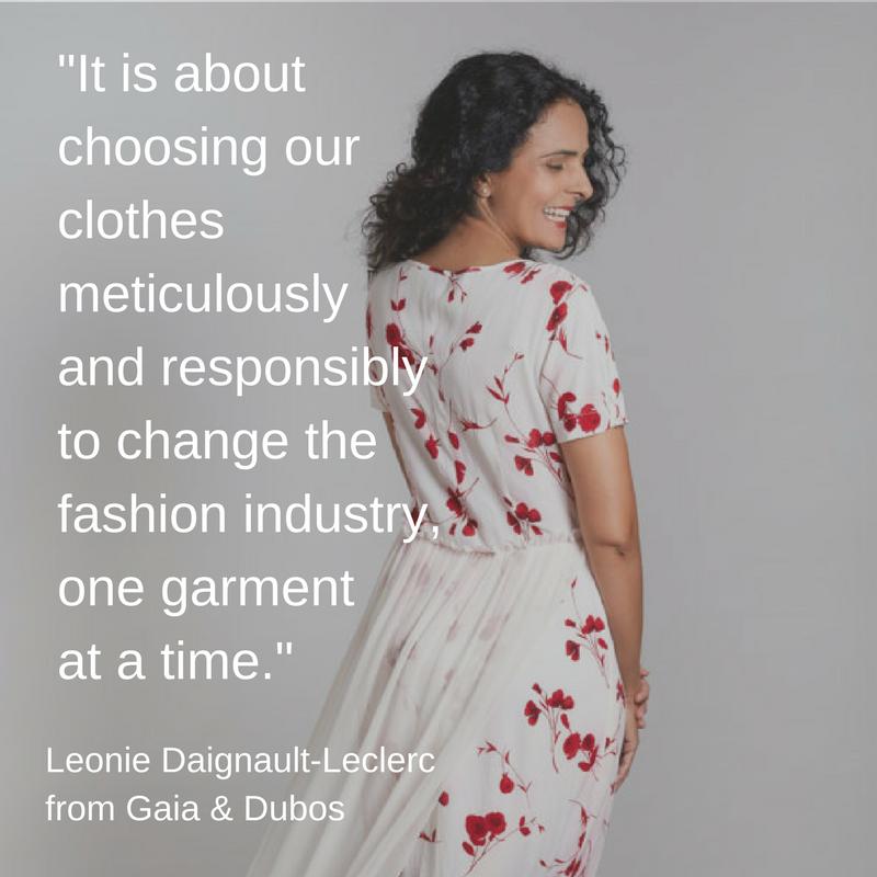 Ethical Clothing - Gaia & Dubos