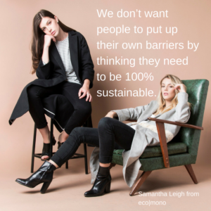A Sustainable Capsule Wardrobe – Samantha Leigh from eco mono
