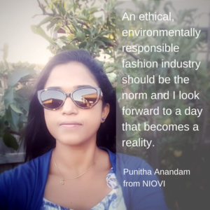Ethical Clothing for Children – Punitha Anandam from NIOVI