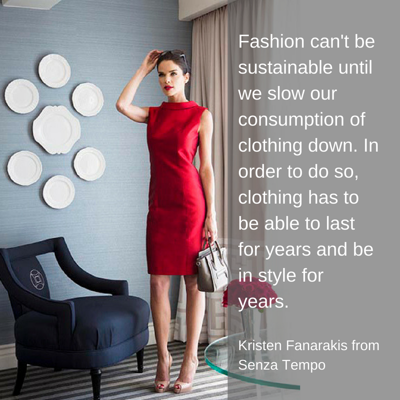 Senza Tempo Sustainable Luxury Clothing