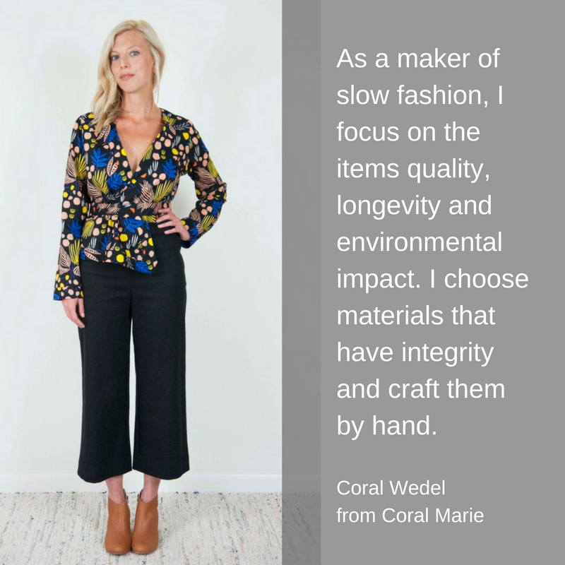 Slow Fashion from Coral Marie